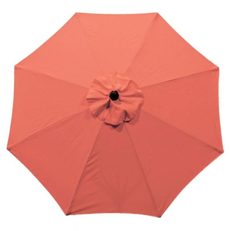 9' Autotilt Umbrella Coral