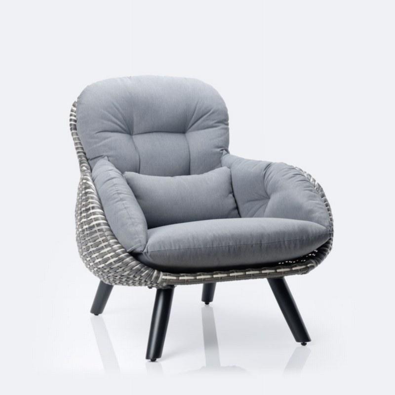 Palm Wicker Chair