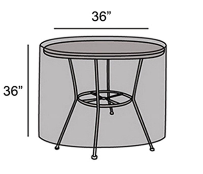 """Protective Cover - 36"""" Round Table"""