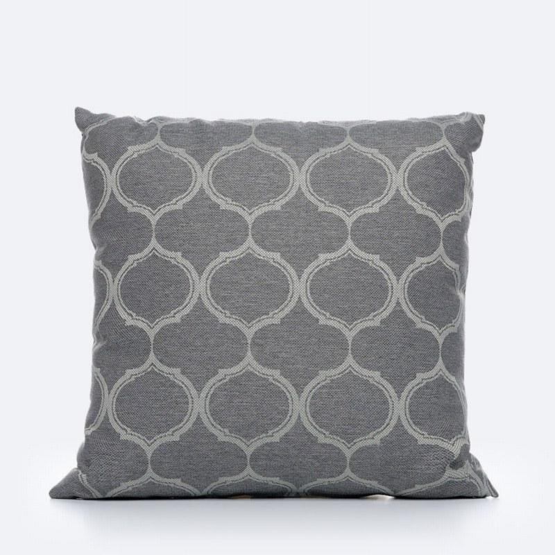 Throw Pillow - Grey Pattern
