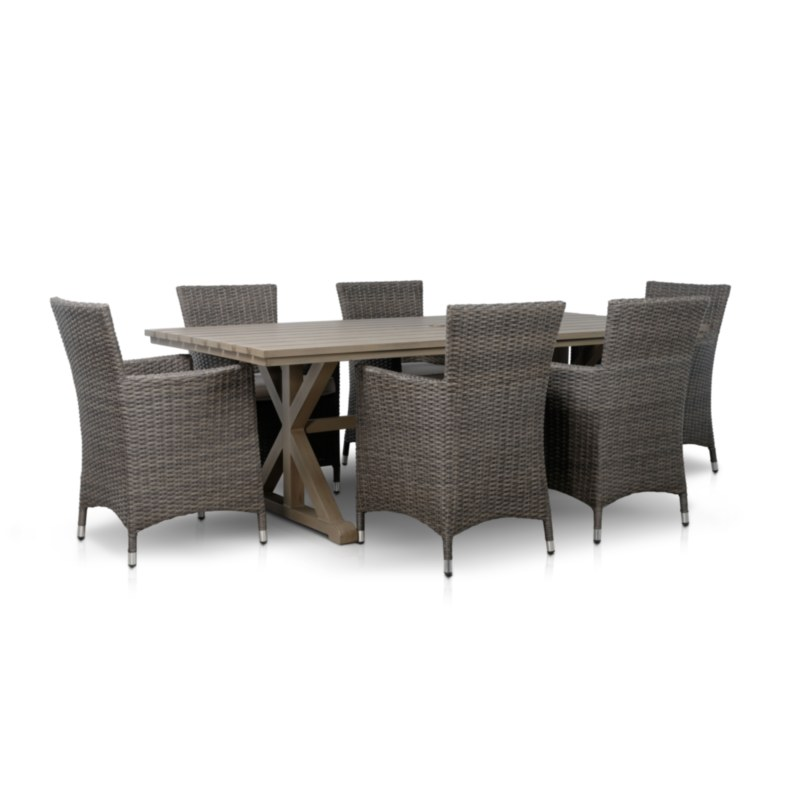 Special Dining Set in Taupe Finish