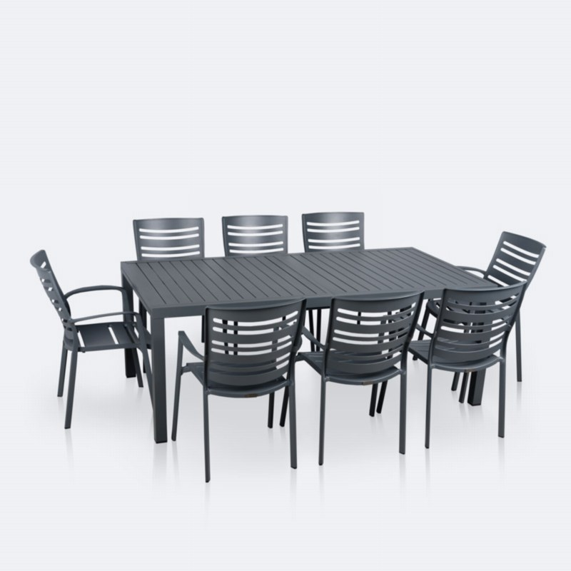 Empire Linear Dining Set - Small