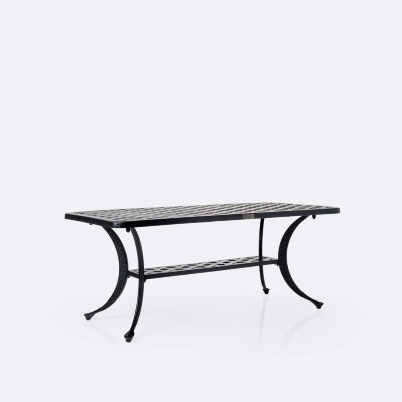 """Weave 21""""x42' Coffee Table"""