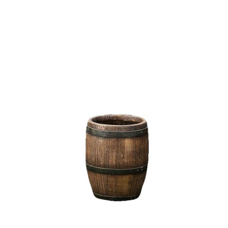 Barrel Planter Small