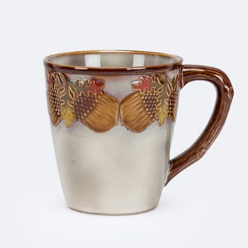 Acorn & Leaf Mug (16oz)