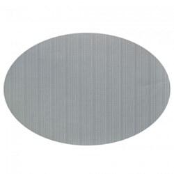 Linnea Rib Oval Vinyl Placemat