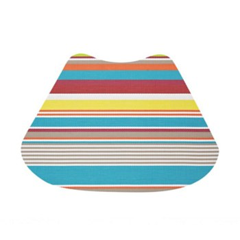Wedge Placemat - Miami Stripe