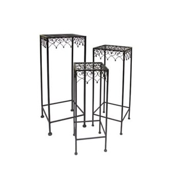 Metal Plant Stand Set