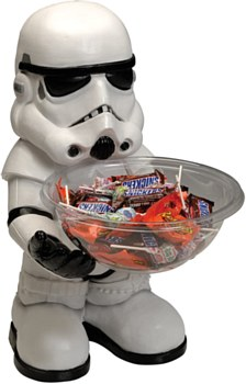 Storm Trooper Candy Bowl Holder