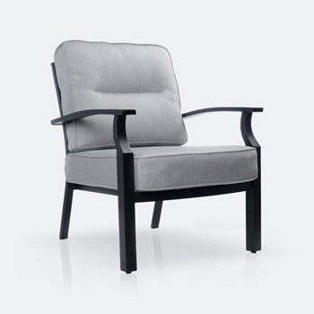 Belvedere Aluminum Club Chair