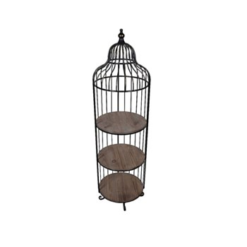 Bird Cage Accent Shelf
