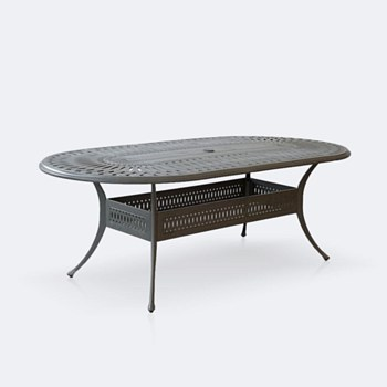 "Breeze 42""x87' Oval Table"