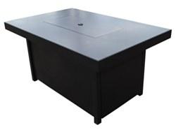 Carmel Rectagular Firepit Table