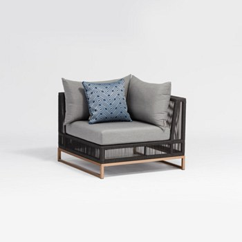Champagne Coner Chair