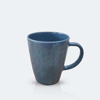 "Ciel 3.5"" Mug - Slate Blue with speckles"