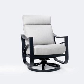 Delta High Back Swivel Chair