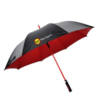 DOT Red Golf Umbrella