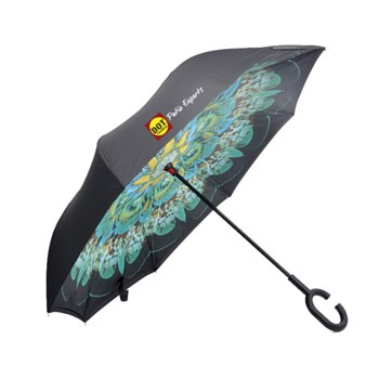 DOT Peacock Inverted Umbrella