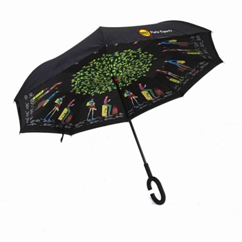 DOT Parade Inverted Umbrella