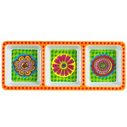 Melamine - Sectioned Tray - Summer