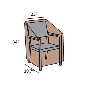 Club Chair Cover-Small