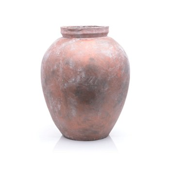 Fibre Cement Dusty Rose Vase
