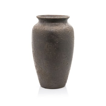 Ceramic Pewter Vase