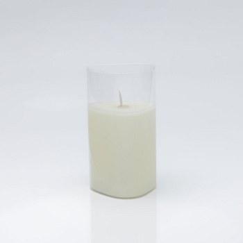 Triangle GlassLED Candle - Medium