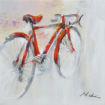 Oil Painting - Bicycle
