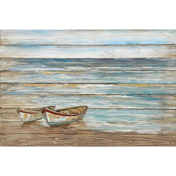 Oil Painting - Boat