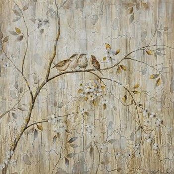 Oil Painting - Birds
