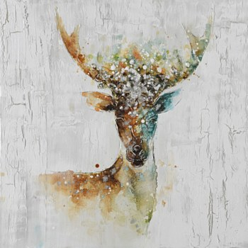 Oil Painting - Deer