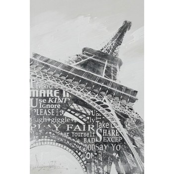 Oil Painting - Eiffel Tower