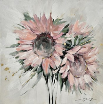 Oil Painting - Matsumoto Aster
