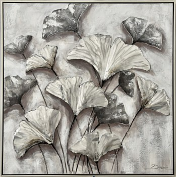 Oil Painting - Silver Ginkgo