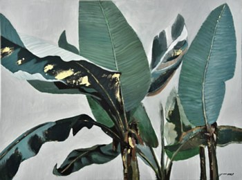 Oil Painting - Tropic Forest