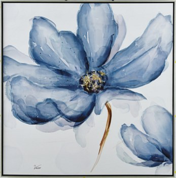 Oil Painting - Blue Daisy