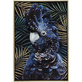Oil Painting - Parrot