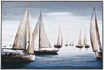 Oil Painting - Out to Sea