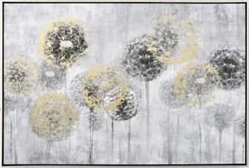 Oil Painting - Gold Allium