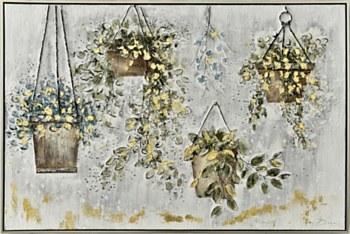Oil Painting - Hanging Garden