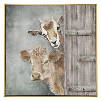 Oil Painting - Just Saying Hello