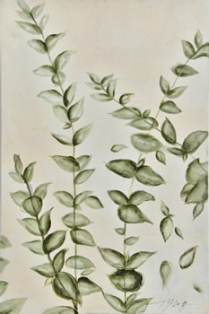 Oil Painting - Be Leaf