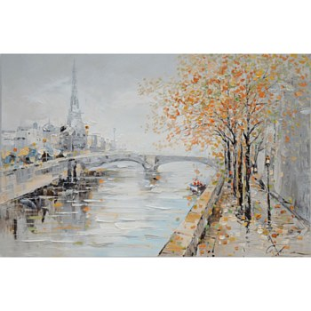 Oil Painting - Paris Landscape