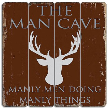 Wood Sign - Man Cave