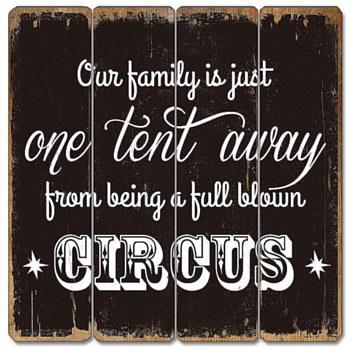 Wood Sign - Circus