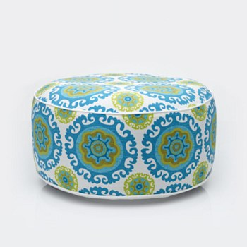 Carnival Days Patio Pouf