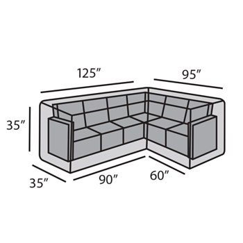 "LHF ""L"" Shape Sectional Cover"