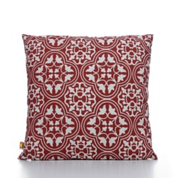 Throw Pillow Ornamental Red