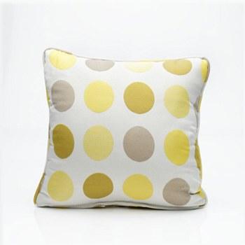 Throw Pillow - Yellow Dots